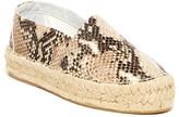 Diane von Furstenberg Tilly Platform Espadrille Slip-On Shoe