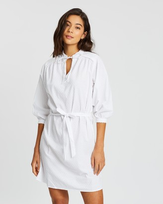 Rusty Amy 3/4 Sleeve Dress