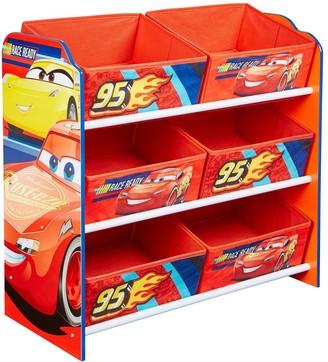 Disney Lightning McQueen Kids Storage Unit