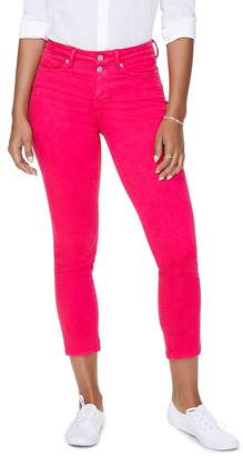 NYDJ Sheri Slim Ankle Jeans in Big Pink