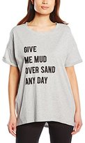 French Connection Women's Give Me Mud Tee