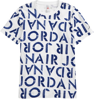 Jordan Brushed Stencil Graphic Tee