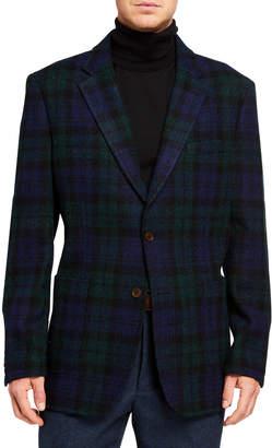 Neiman Marcus Men's Harris Tweed Sport Coat