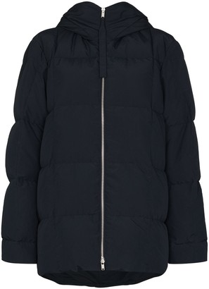 Jil Sander Hooded Puffer Coat