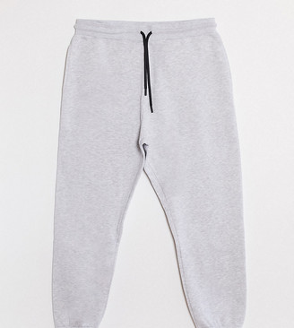Collusion Plus skinny joggers in grey