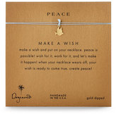 Dogeared Make A Wish Peace Dove Necklace