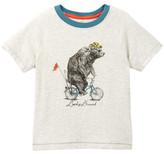 Lucky Brand Bicycle Bear Tee (Little Boys)