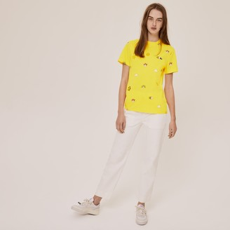 Lacoste Unisex x FriendsWithYou Limited-Edition Graphic T-shirt