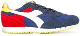 Diadora paneled sneakers - men - Cotton/Leather/Suede/rubber - 6