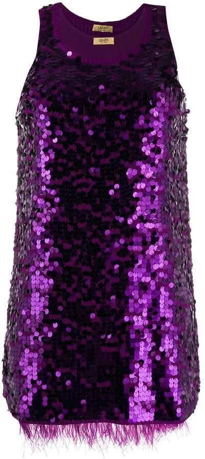 Liu Jo sequin fitted dress