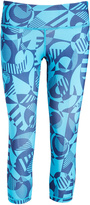 Head Vivid Blue Geometric Decoder Crop Pants