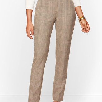 Talbots Modern Bi-Stretch Pants - Curvy Fit - Houndstooth