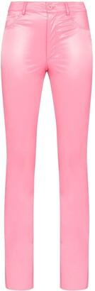 MAISIE WILEN Galleria latex trousers