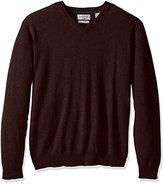 Weatherproof Vintage Men's Cashmere V-Neck Sweater