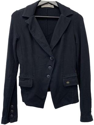 Aniye By Black Cotton Jacket for Women