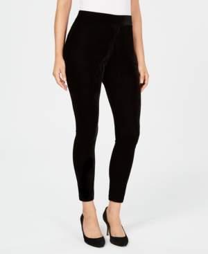 JM Collection Velvet Leggings, Created for Macy's