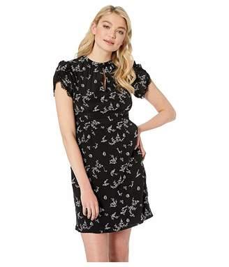 Nanette Lepore Decadence Shift Dress (Black Multi) Women's Dress