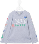 Kenzo printed sweatshirt - kids - Cotton/Polyester - 3 yrs