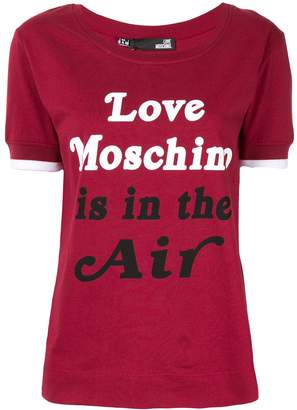 Love Moschino Love Is In The Air T-shirt