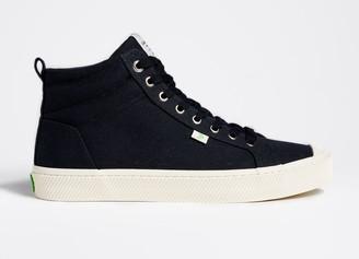 Cariuma OCA High Black Canvas Sneaker Men