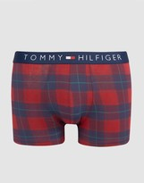 Tommy Hilfiger Icon Stretch Trunks In Check