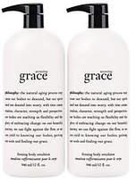 philosophy Super-Size Amazing Grace Emulsion 32 Oz. Duo