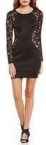 I.N. San Francisco Sequin Lace Hourglass Sheath Dress