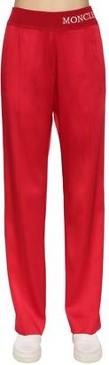 Moncler Viscose Blend Track Pants