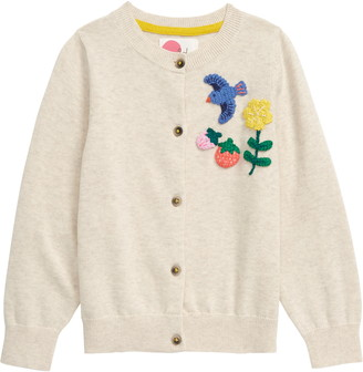 Boden Mini  Fun Crochet Cardigan