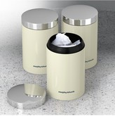 Morphy Richards Accents Set of 3 Storage Canisters Ivory