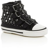 Ash Girls' Viper Embellished Buckle High Top Sneakers - Walker