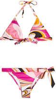 Emilio Pucci Libellula Printed Bikini