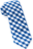 The Tie Bar Royal Blue Classic Gingham Tie