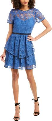 Monique Lhuillier Ml Mini Dress