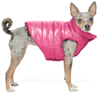 MONCLER GENIUS Pink Poldo Dog Couture Edition Insulated Jacket