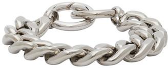 MM6 MAISON MARGIELA Silver Chunky Curb Chain Bracelet