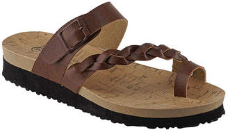R&K Rk Collection RK Collection Women's Sandals BROWN - Brown Remi Braided-Strap Sandal - Women