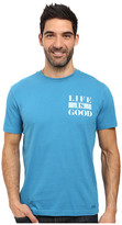 Life is Good Stripe Crusher Tee