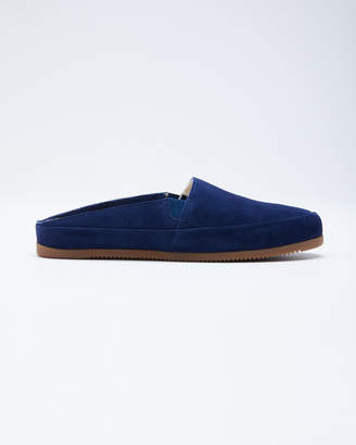 Mulo Men's Suede Shearling Slippers