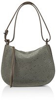 AllSaints Echo Mini Suede Hobo