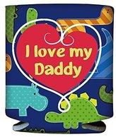 Evergreen I Love My Daddy Dinosaur Baby Bottle Sleeve