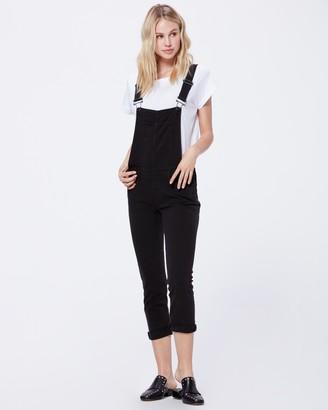 Paige Sierra Overall-Vintage Black