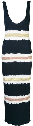 M Missoni Striped Jersey Dress