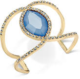 INC International Concepts Pavé & Colored Stone Open Cuff Bracelet, Created for Macy's