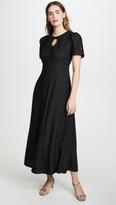 ALEXACHUNG Scallop Panelled Dress