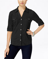 Style&Co. Style & Co. Utility Shirt, Only at Macy's