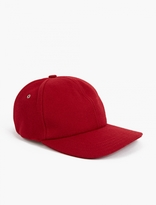 A.P.C. Red Woollen Baseball Cap
