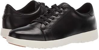 Stacy Adams Hawkins Cap Toe Sneaker (Black) Men's Shoes