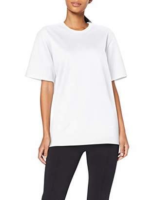 Trigema Women's Damen T-Shirt Piqué-Qualität, Black (Schwarz 008)