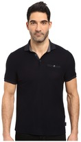 Ted Baker Dino Short Sleeve Textured Jersey Polo